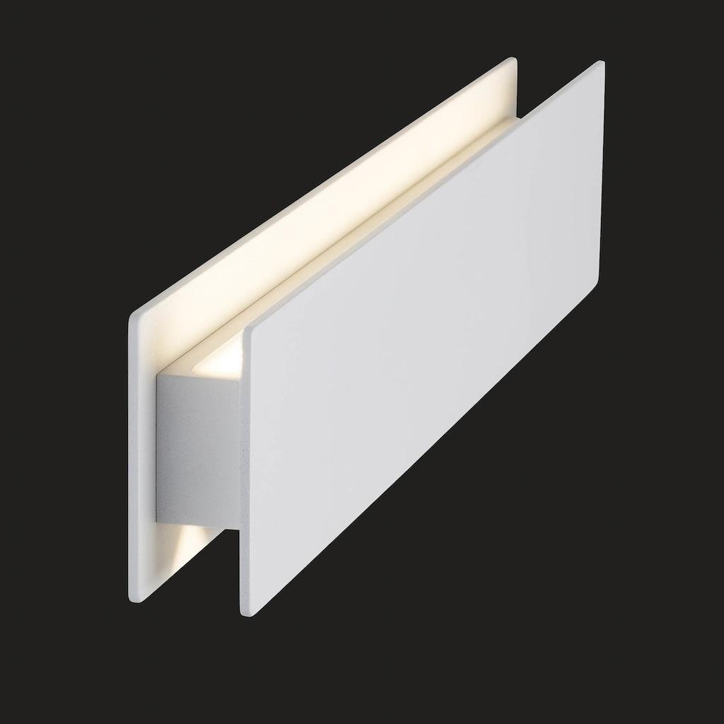 AEG Court LED Außenwandleuchte weiß