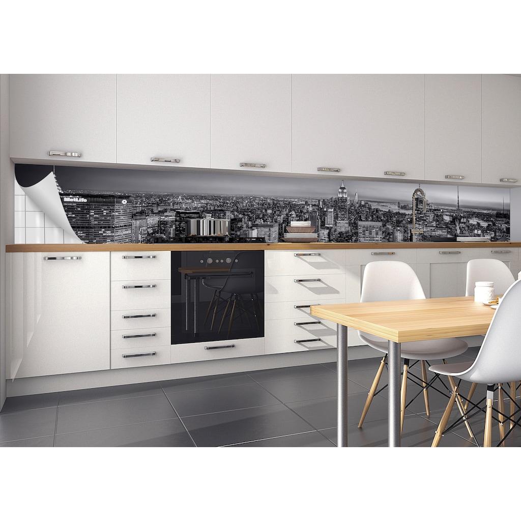 MySpotti Küchenrückwand »fixy Lenni«, selbstklebende und flexible Küchenrückwand-Folie