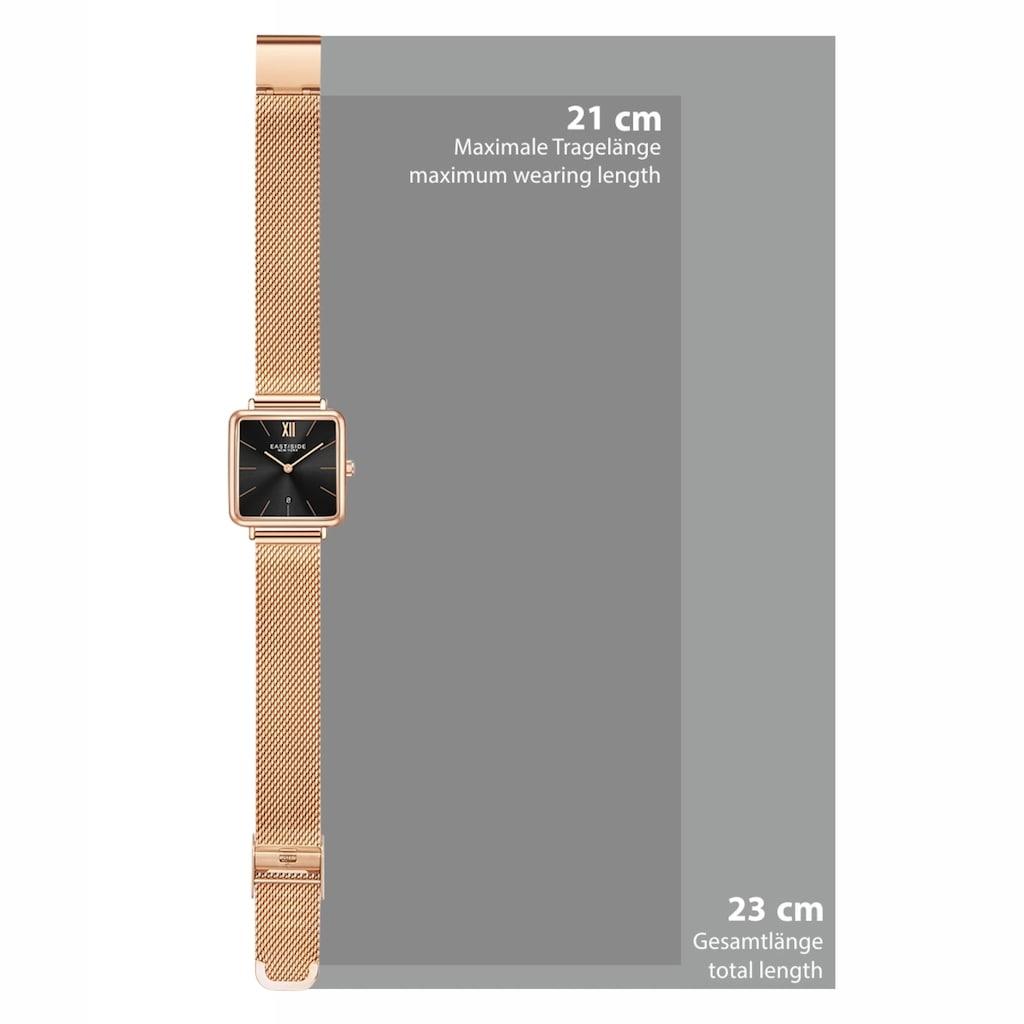 Eastside Quarzuhr »ES324«, (1 tlg.), mit Edelstahl-Armband