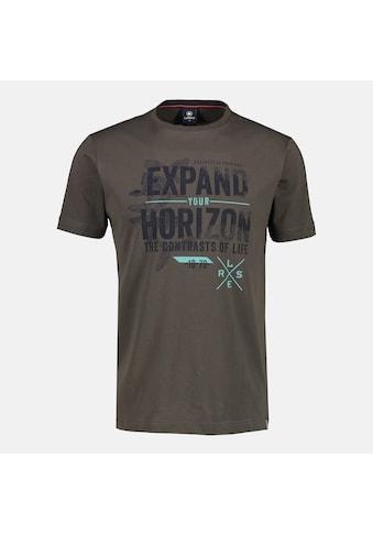 LERROS T-Shirt »Expand your horizon«, mit Brustprint kaufen