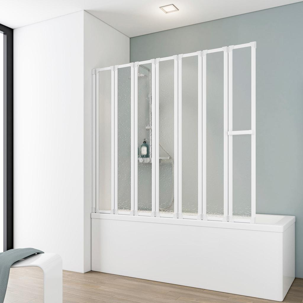 Schulte Badewannenfaltwand »Luxus«, gerahmt, BxH: 150 x 140 cm