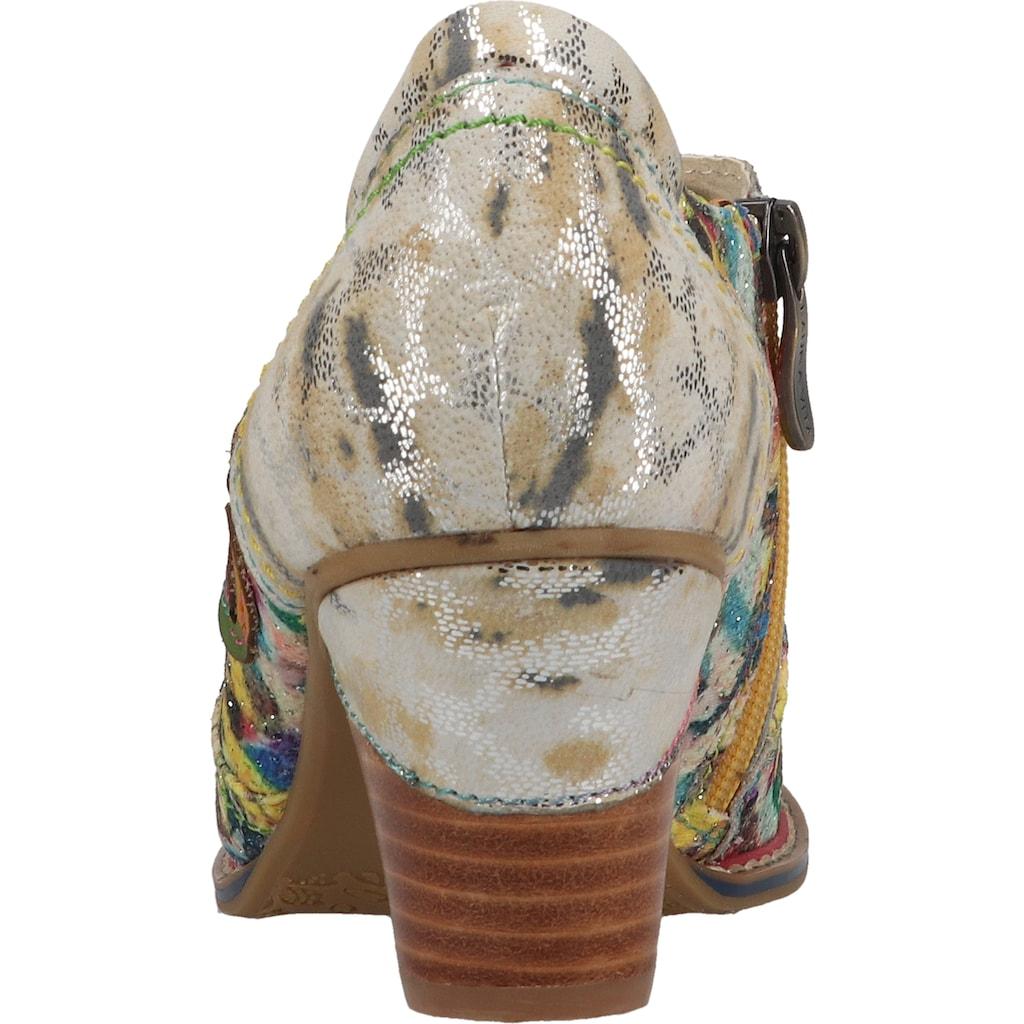LAURA VITA Schnürpumps »Leder/Textil«