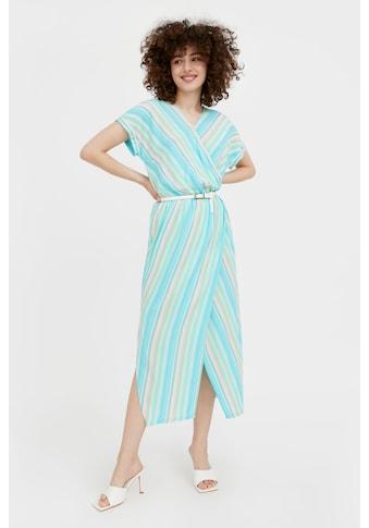 Finn Flare Jerseykleid, mit mehrfarbigem Streifen-Design kaufen
