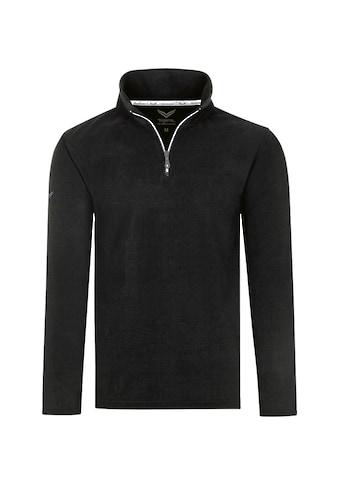 Trigema Strickfleece-Pullover, mit Reißverschluss kaufen