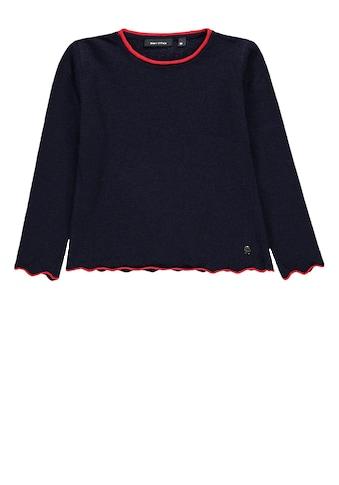 Marc O'Polo Junior Pullover Feinstrick farblich abgesetzt kaufen