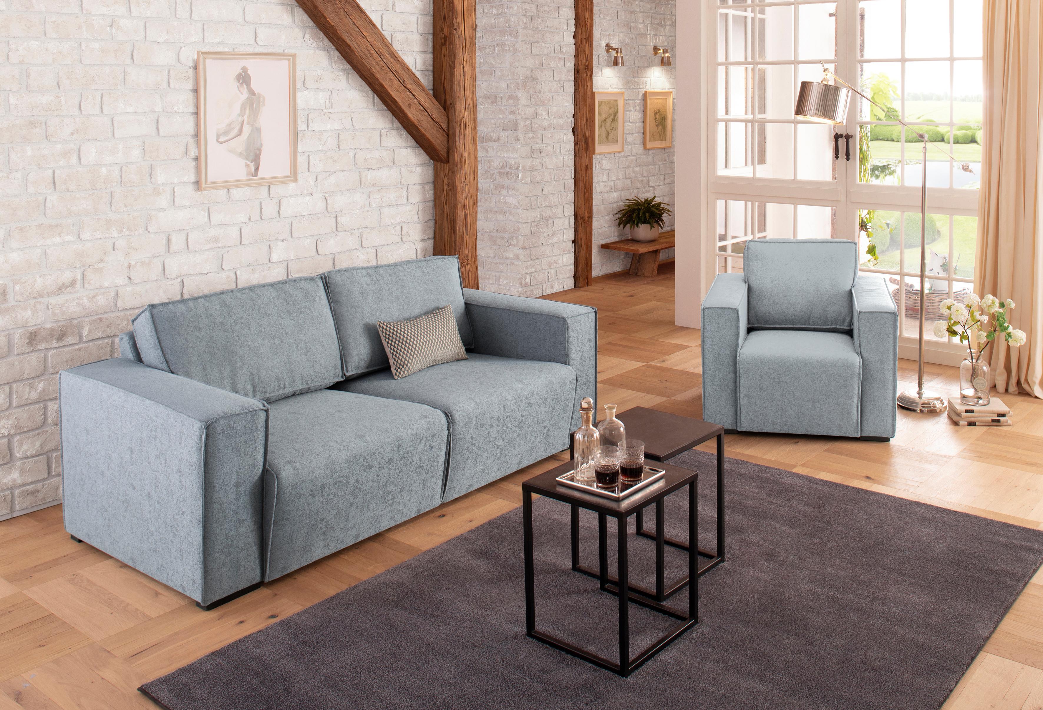 Home affaire 2-Sitzer Cerona in 3 unterschiedlichen Sitzbreiten Keder