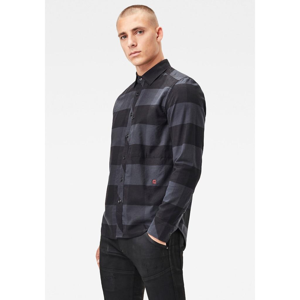 G-Star RAW Karohemd »Stalt regular shirt l\s«