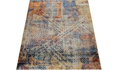 Teppich, »Jazz 704«, Paco Home, rechteckig, Höhe 14 mm, maschinell gewebt kaufen
