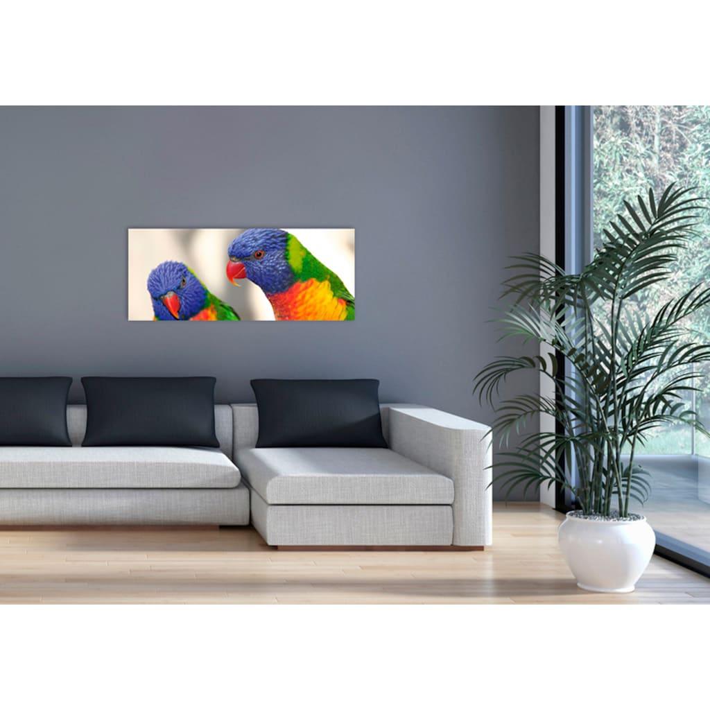 """Marmony Infrarotwandheizung »MOTIV-Heizkörper """"Birds"""", 800 Watt«, trocknet Wände und Mauerwerk, aus deutschem Jura-Naturstein"""