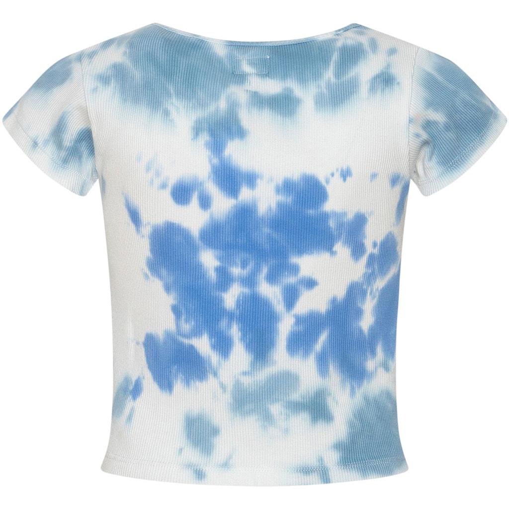 Pepe Jeans T-Shirt »Anita«, im modischen Batikmuster