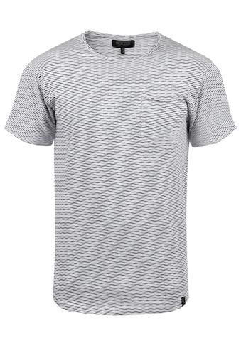Indicode Rundhalsshirt »Albin«, Kurzarmshirt mit Brusttasche kaufen
