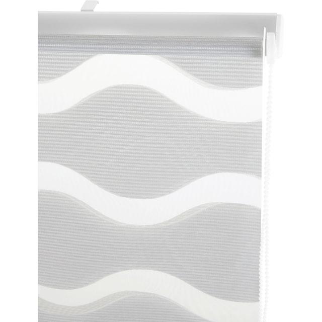 Doppelrollo »Wellen«, Guido Maria Kretschmer Home&Living, Lichtschutz, ohne Bohren, freihängend