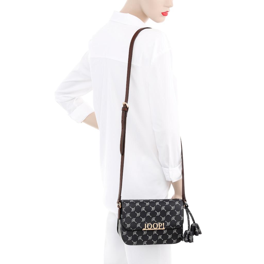 Joop! Mini Bag »cortina uma shoulderbag xshf«, mit auffälligem Logo und schickem Allover-Druck