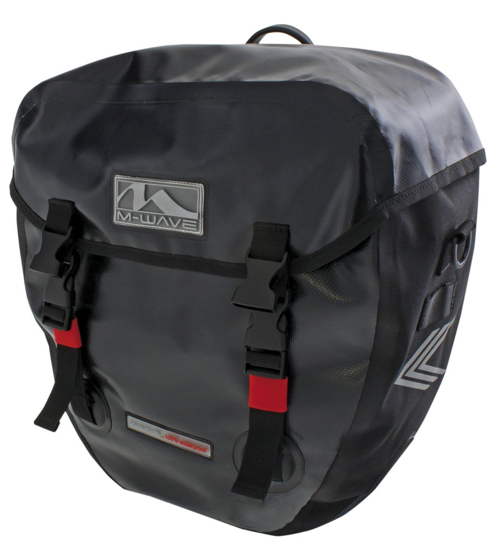 M-Wave Gepäckträgertasche Alberta Technik & Freizeit/Sport & Freizeit/Fahrräder & Zubehör/Fahrradzubehör/Fahrradtaschen/Gepäckträgertaschen