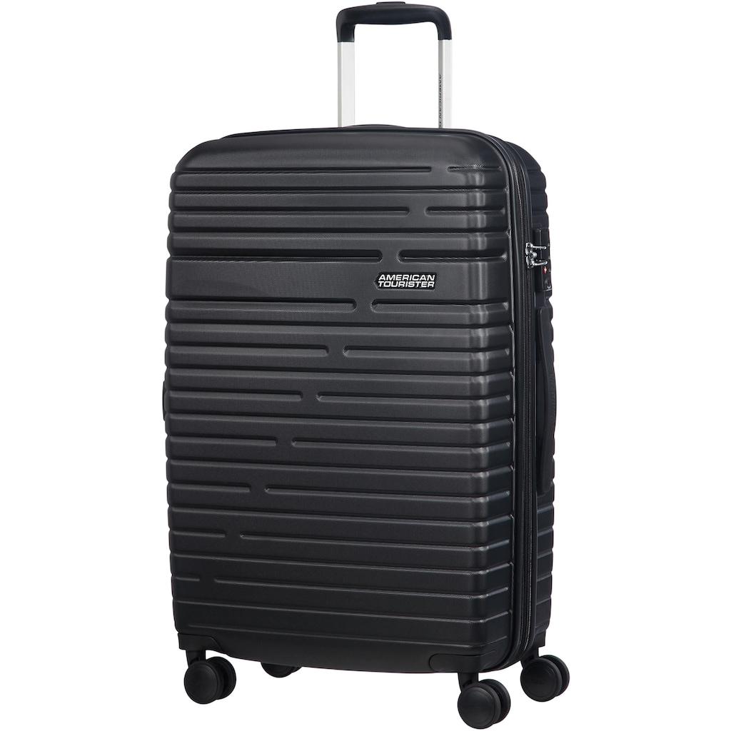 American Tourister® Hartschalen-Trolley »Aero Racer, 68 cm, jet black«, 4 Rollen