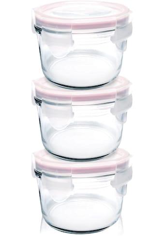 Glasslock Aufbewahrungsbox »Baby Meal«, (3 tlg.), rund, á 160ml kaufen