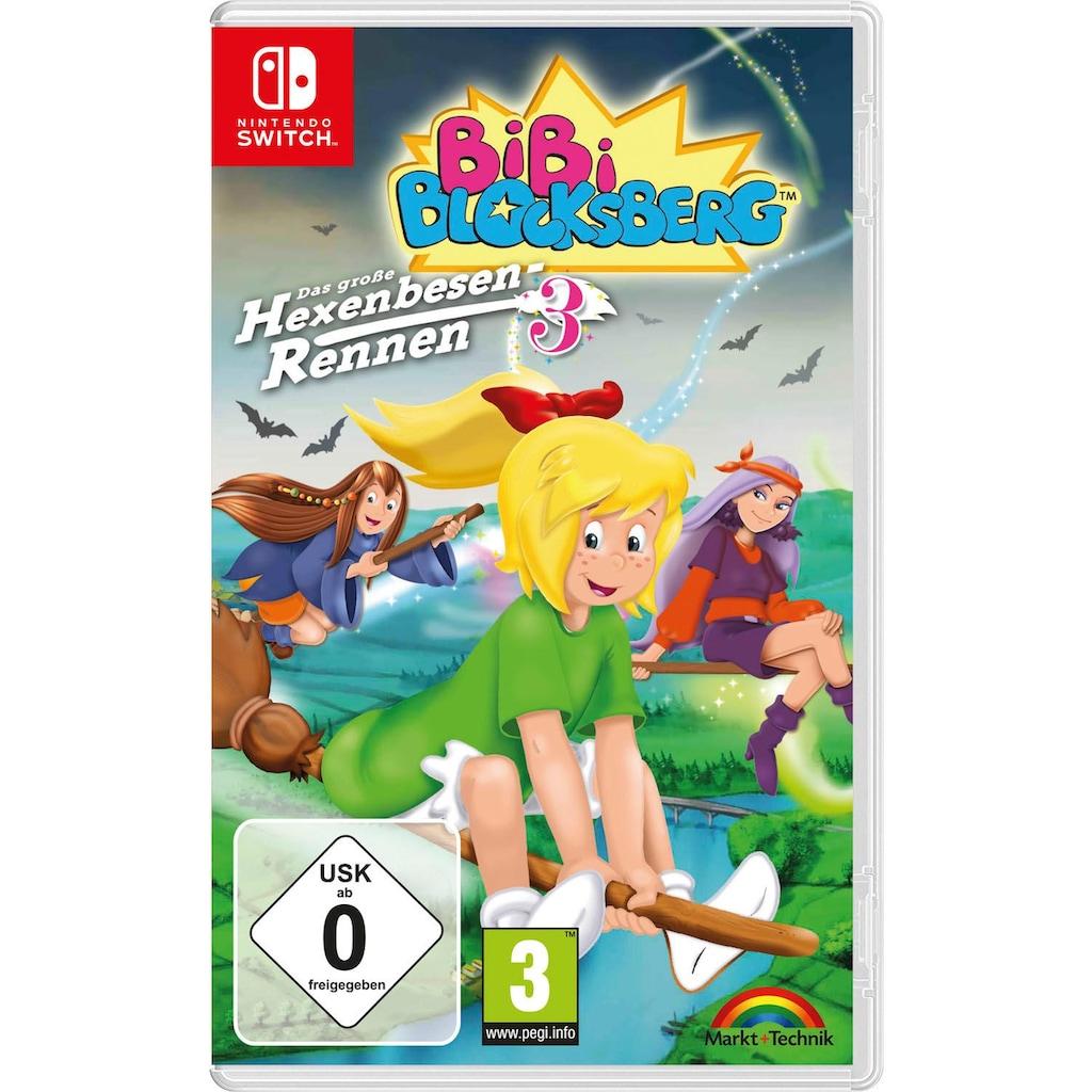 Markt+Technik Spiel »Bibi Blocksberg: Hexenbesen-Rennen 3«, Nintendo Switch, Software Pyramide