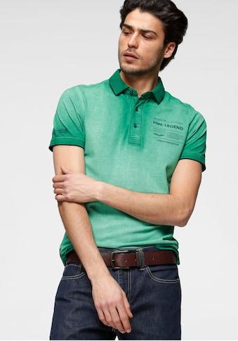 PME LEGEND Poloshirt, mit Logobrustprint kaufen