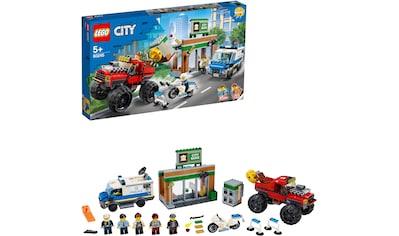 LEGO® Konstruktionsspielsteine »Raubüberfall mit dem Monster-Truck (60245), LEGO® City«, (362 St.) kaufen