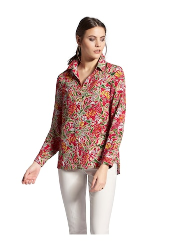 Uta Raasch Hemdbluse »mit Hemdkragen«, und Allover-Muster kaufen