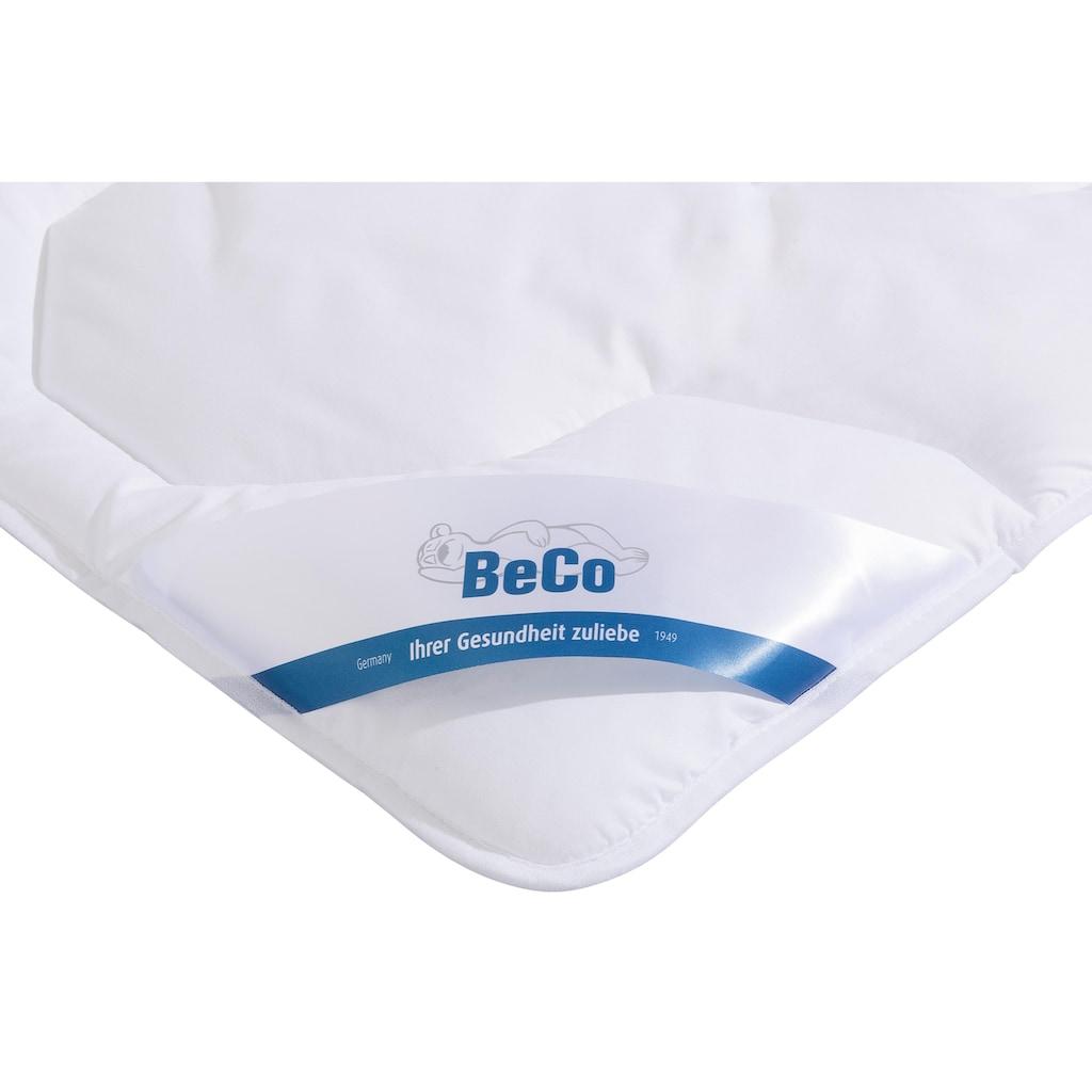Beco Kinderbettdecke + Kopfkissen »Antibac«, (Spar-Set), mit dem Siegel vom Institut Hohenstein »Wirksam gegen Milben« ausgezeichnet*
