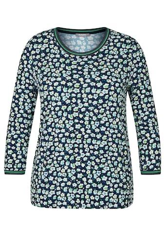 Rabe Shirt mit Glitzerdetails und Blumen - Muster kaufen