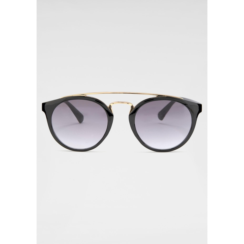 catwalk Eyewear Retrosonnenbrille, Retro Look, Circular