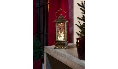 KONSTSMIDE Weihnachtsfigur, LED Schneelaterne mit Schneemännern kaufen