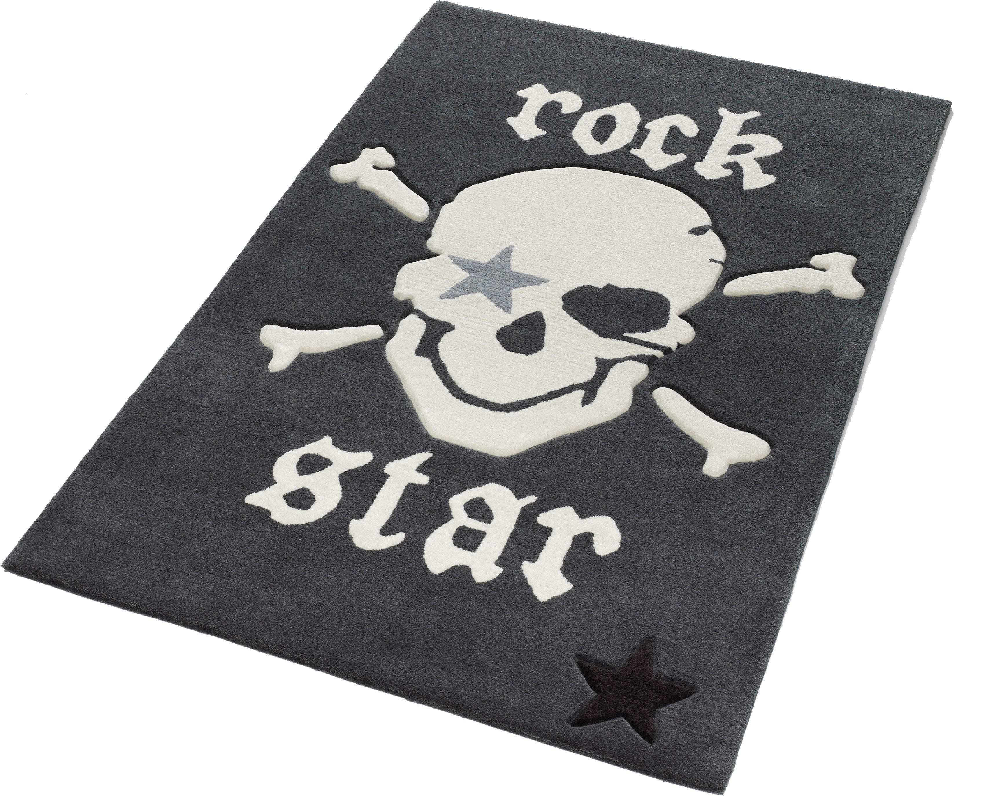 Teppich 702 Rock STAR Baby rechteckig Höhe 10 mm