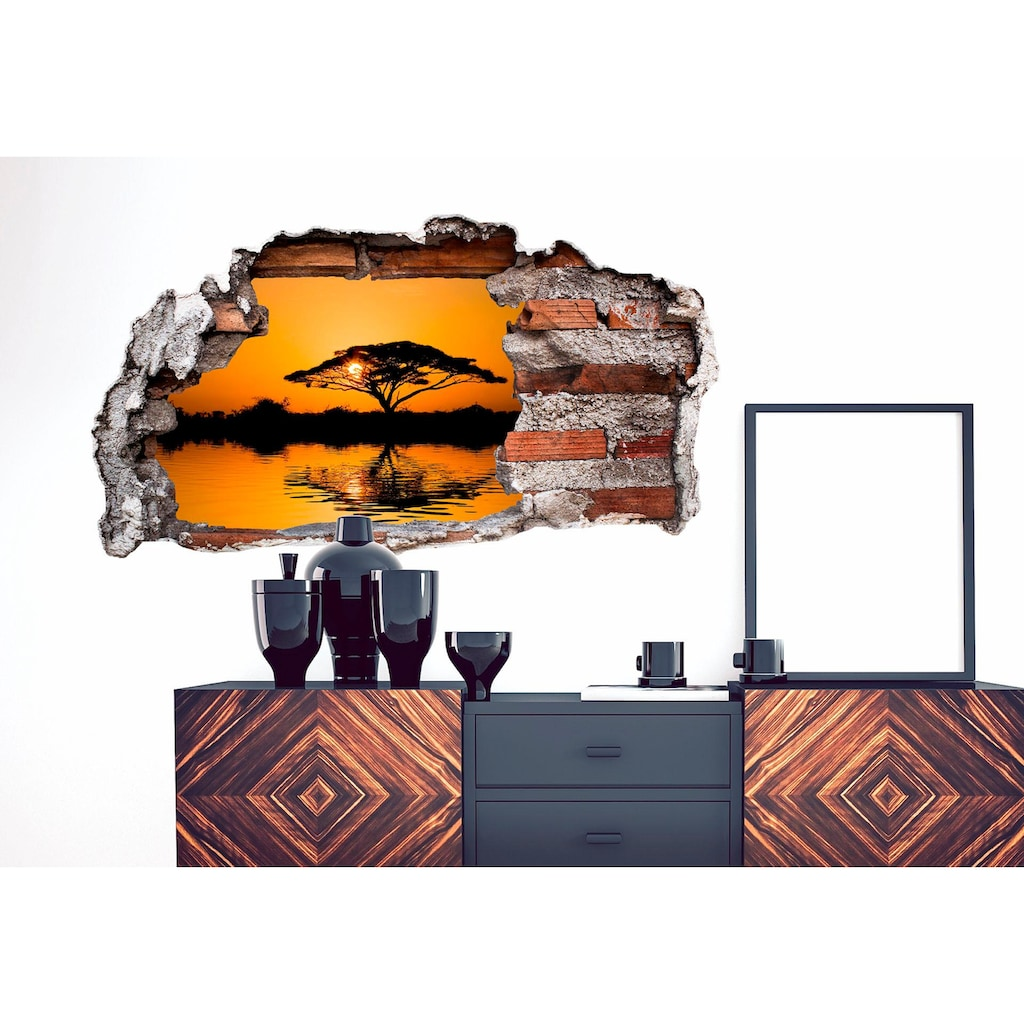 Wall-Art Wandtattoo »Afrika«