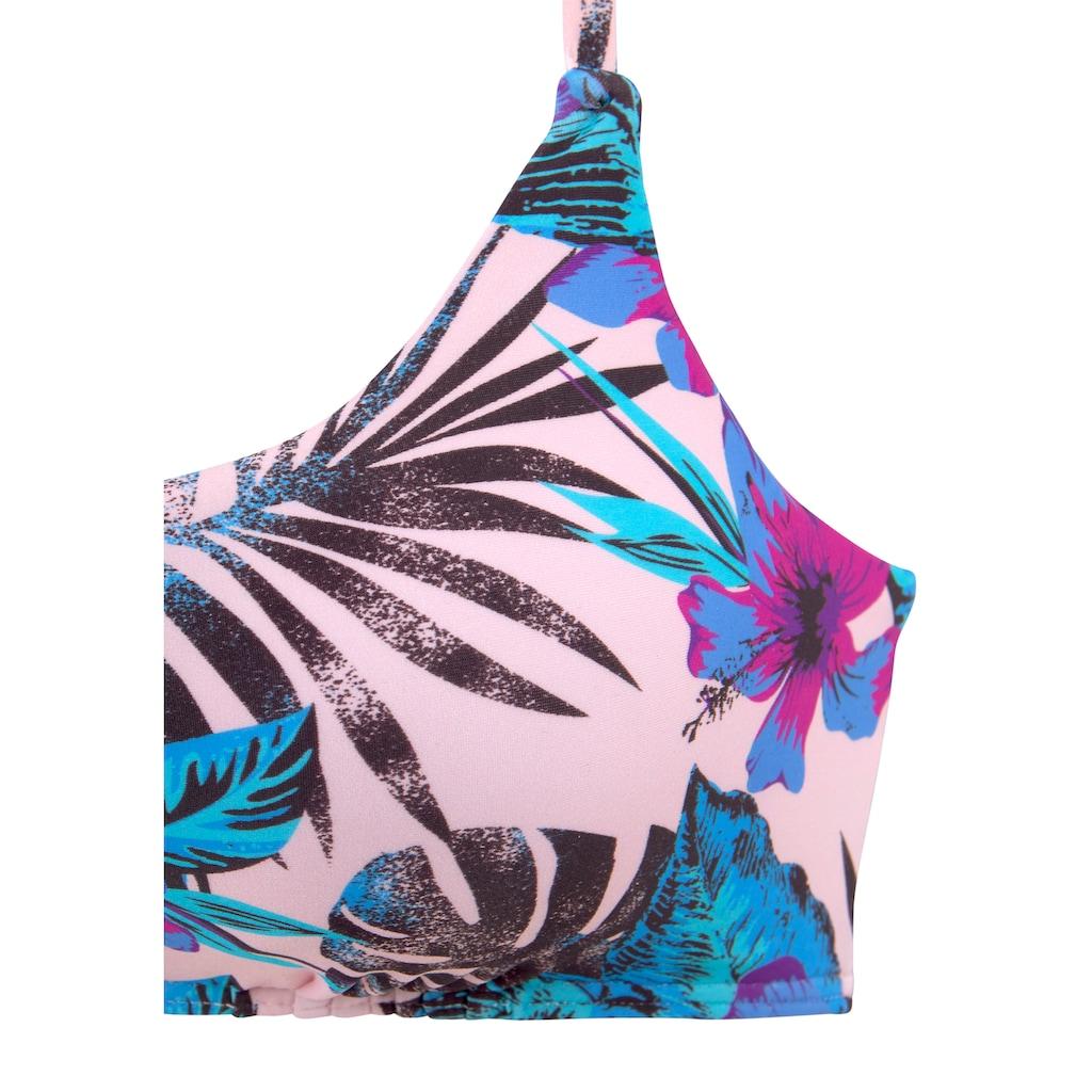 Venice Beach Bustier-Bikini-Top »Marly«, mit Verschluss am Rücken