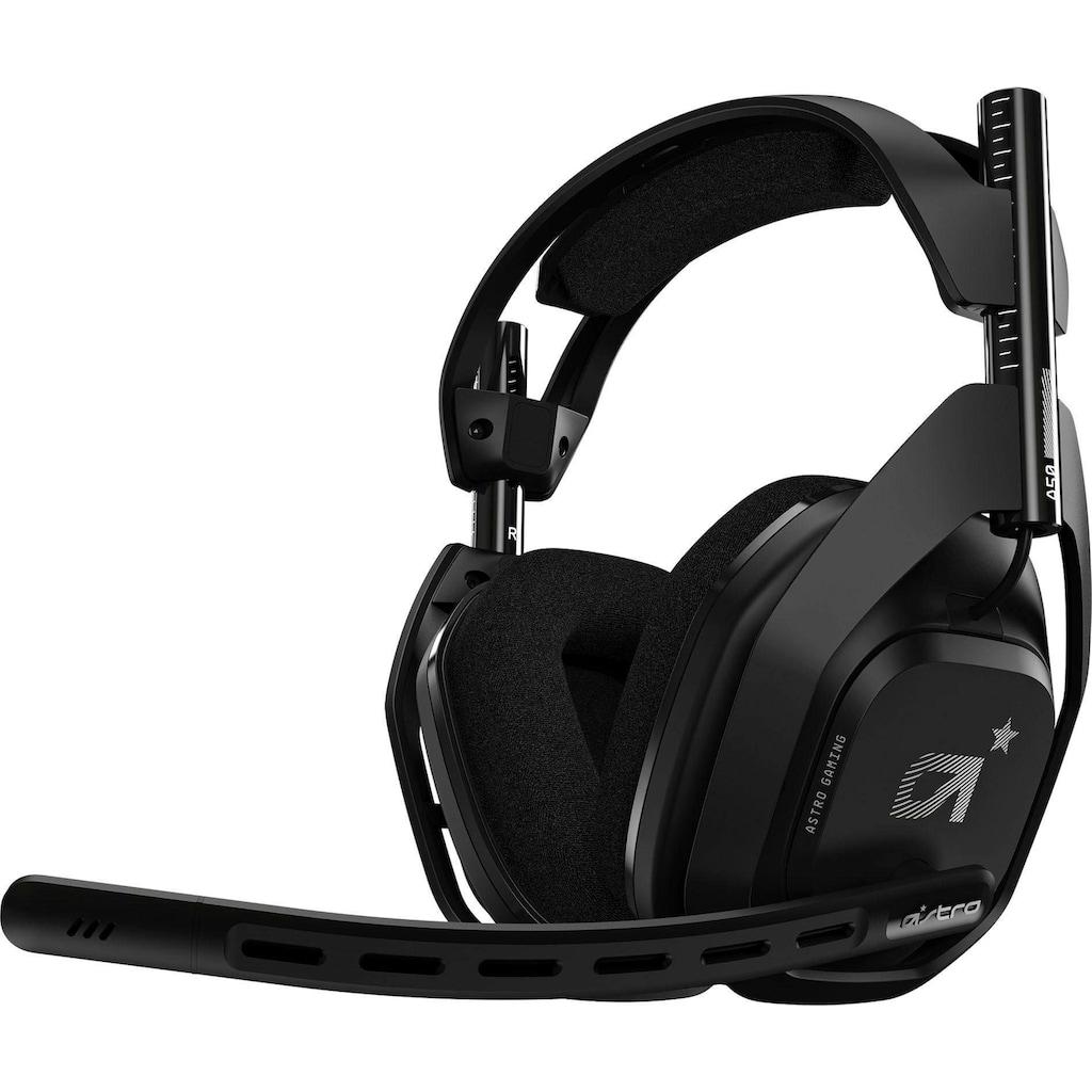 ASTRO Gaming-Headset »A50«, Rauschunterdrückung, inkl. PS5 DualSense Wireless-Controller