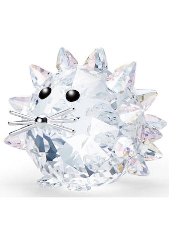 Swarovski Dekofigur »Replika Igel, 5492739«, Swarovski® Kristall mit schwarzem Emaille kaufen