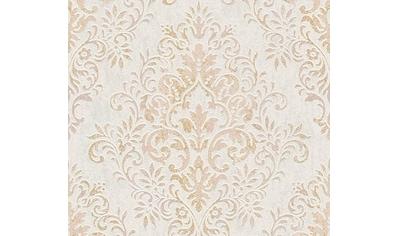 living walls Vliestapete »Tapete mit Ornamenten barock«, metallic-matt-glänzend-ornamental-floral-gemustert, strukturiert kaufen
