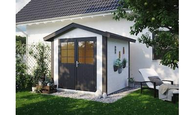 Kiehn - Holz Gartenhaus »Aschberg 2«, BxT: 272x272 cm, inkl. Aufbau und Fußboden kaufen