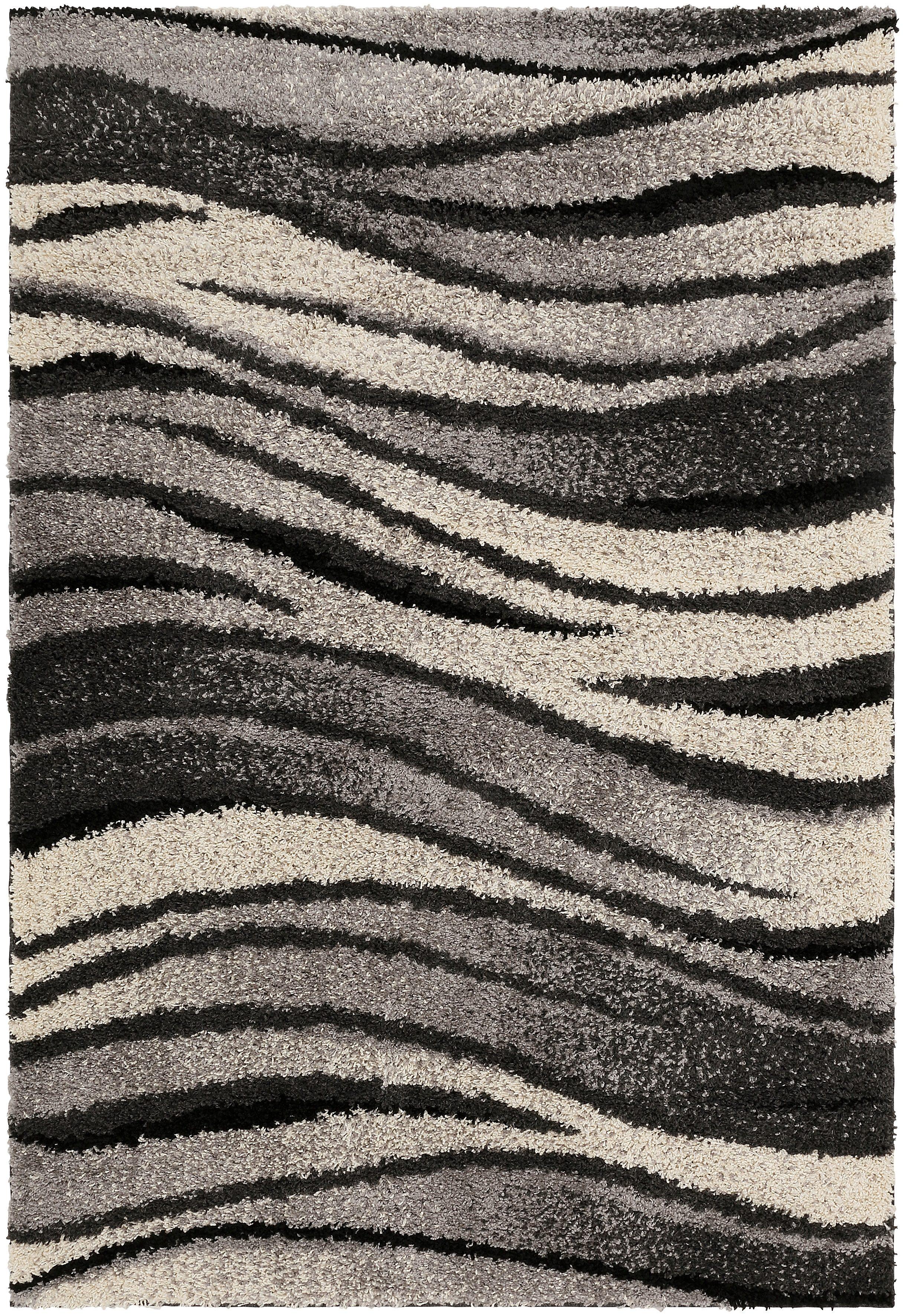 hochflor teppich jamie my home rechteckig h he 30 mm. Black Bedroom Furniture Sets. Home Design Ideas