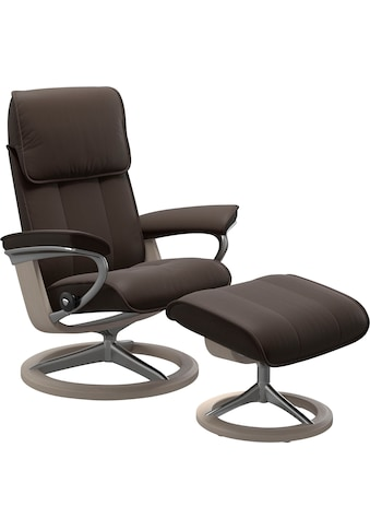 Stressless® Relaxsessel »Admiral«, mit Hocker, mit Signature Base, Größe M & L, Gestell Whitewash kaufen