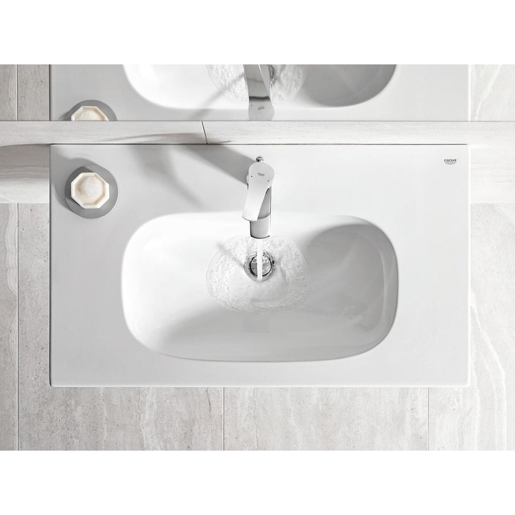 Grohe Waschtischarmatur »Eurosmart«, M-Size, verchromt mit Ablaufgarnitur