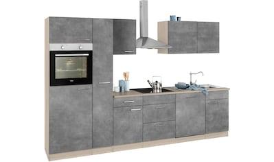wiho Küchen Küchenzeile »Zell«, ohne E-Geräte, Breite 310 cm kaufen