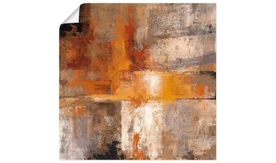 Artland Wandbild »Silber und Bernstein Ernte«, Gegenstandslos, (1 St.), in vielen... kaufen