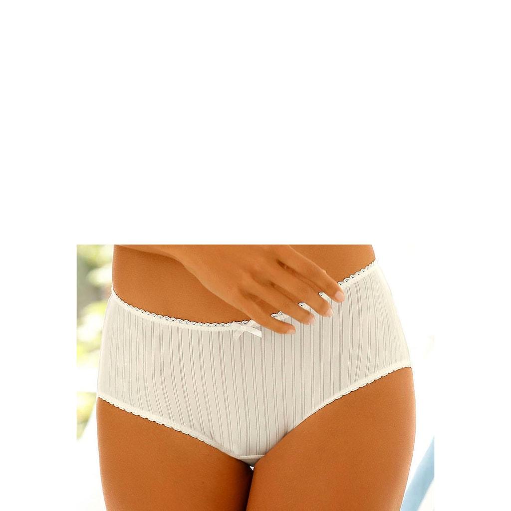 LASCANA Panty, mit hübscher Spitzenborte