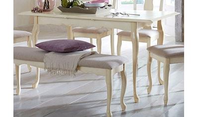 Home affaire Esstisch »Queen«, mit einer praktischen Auszugsfunktion, in 2 Größen, mit... kaufen
