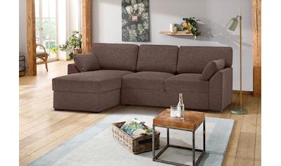 Premium collection by Home affaire Ecksofa »Garda«, Recamierenabschluß mit... kaufen