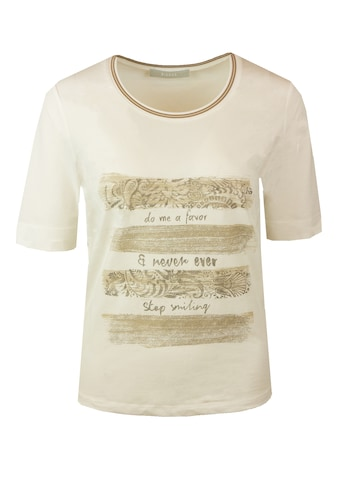 bianca Kurzarmshirt »DINIA«, mit coolem Statementprint kaufen