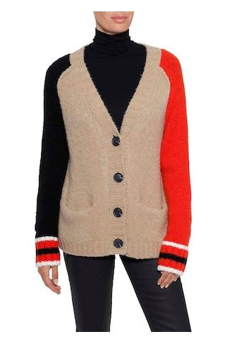 Herrlicher Strickjacke »Nathalie«, im Colour-Blocking kaufen