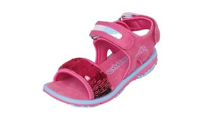 Kappa Sandale »SEAQUEEN KIDS«, mit Wendepailetten<br /> kaufen