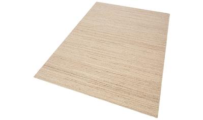 Theko Exklusiv Wollteppich »Janne«, rechteckig, 14 mm Höhe, reine Wolle, Wohnzimmer kaufen