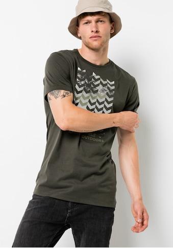 Jack Wolfskin T-Shirt »CHEVRON T M« kaufen