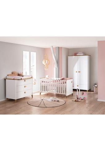 PAIDI Babymöbel-Set »Lotte & Fynn«, (4 St., Babybett, Wickelaufsatz und Wickelkommode,... kaufen
