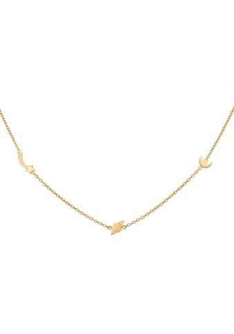CAÏ Kette mit Anhänger »925/- Sterling Silber vergoldet Sternschnuppe - Sa« kaufen